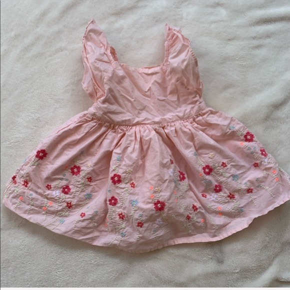GAP Other - BABY GAP pink floral 6-12M dress for girls